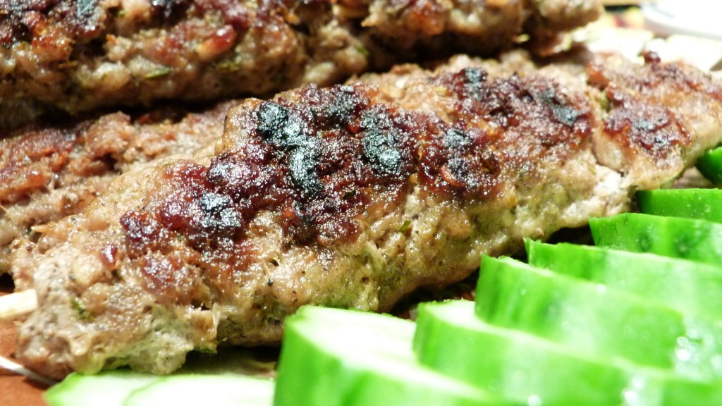 Kafta (Lebanese Beef Kebabs)