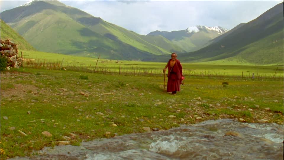 Тибет - снимка Google