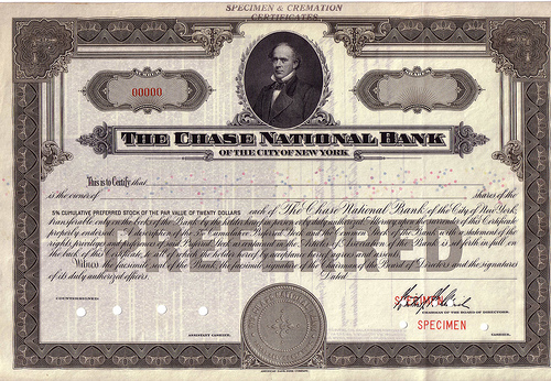 The_Chase_National_Bank_of_the_City_of_New_York,_Specimen_Stock_Certificate